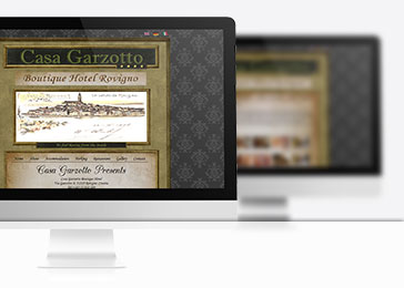 Website client Casa Gazotto
