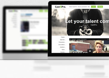 Website client Cast4pro